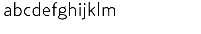 Relay Light Font LOWERCASE