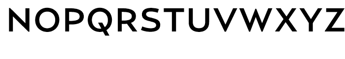 Relay Medium Wide Font UPPERCASE