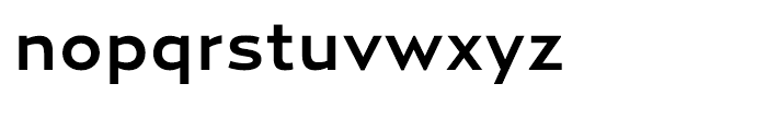 Relay Medium Wide Font LOWERCASE