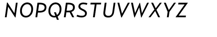 Relay Regular Italic Font UPPERCASE