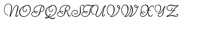 Reliant Regular Font UPPERCASE