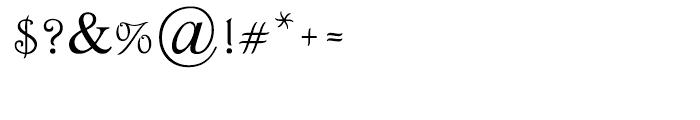 Renessans Medium Font OTHER CHARS