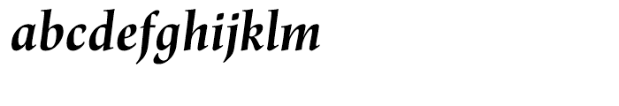 Renner Antiqua Bold Italic Font LOWERCASE