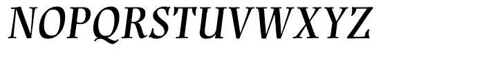 Renner Antiqua Demi Italic Font UPPERCASE