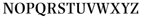 Renner Antiqua Demi Font UPPERCASE