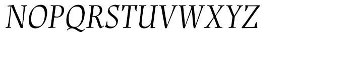 Renner Antiqua Display Italic Font UPPERCASE