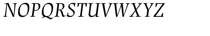 Renner Antiqua Italic Font UPPERCASE