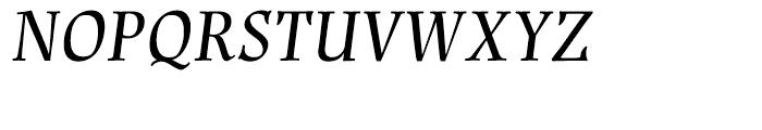 Renner Antiqua Medium Italic Font UPPERCASE