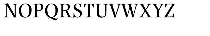 Renner Antiqua Medium Font UPPERCASE