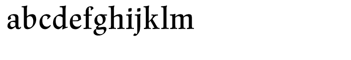 Renner Antiqua Medium Font LOWERCASE