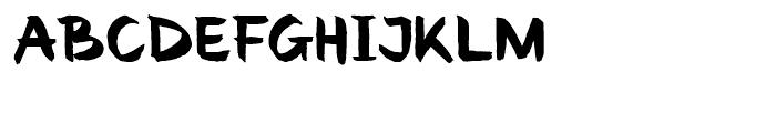 Renovation Regular Font UPPERCASE
