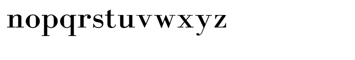 Rephael Font LOWERCASE