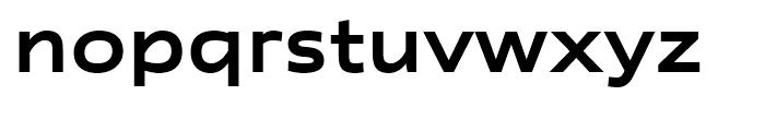 Rescue Wide Semi Bld Font LOWERCASE
