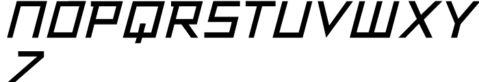 Resistance Is Lowered Italic Font UPPERCASE
