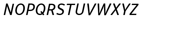 Respublika FY Italic Font UPPERCASE