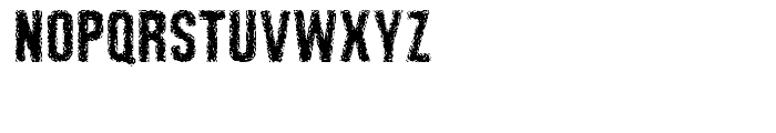 Retroactive Regular Font UPPERCASE
