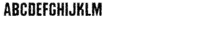 Retroactive Regular Font LOWERCASE