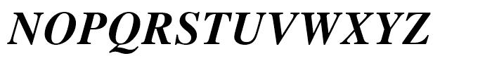 Retrograd Bold Italic Font UPPERCASE
