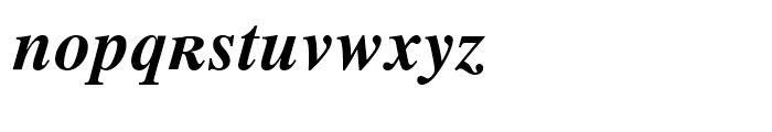 Retrograd Bold Italic Font LOWERCASE
