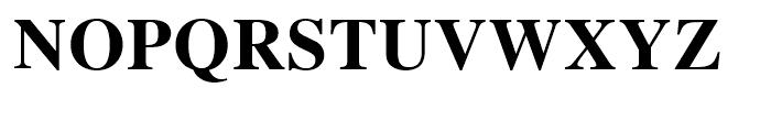 Retrograd Bold Font UPPERCASE