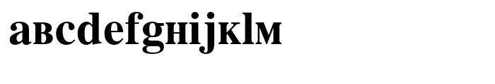 Retrograd Bold Font LOWERCASE
