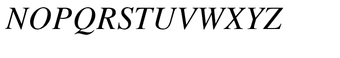 Retrograd Italic Font UPPERCASE