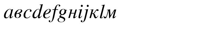 Retrograd Italic Font LOWERCASE