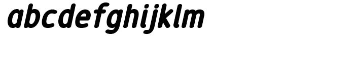 Revalo Modern Black Italic Font LOWERCASE