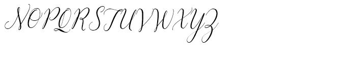 Revista Script Font UPPERCASE