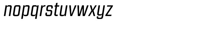 Revolution Gothic Regular Italic Font LOWERCASE