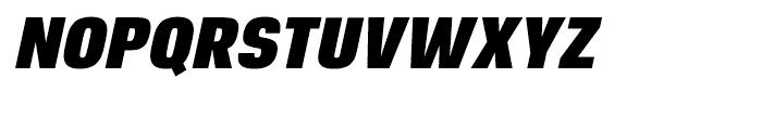 Reznik Black Italic Font UPPERCASE