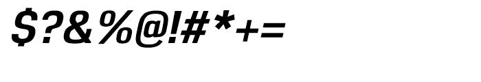 Reznik Bold Italic Font OTHER CHARS