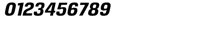 Reznik ExtraBold Italic Font OTHER CHARS