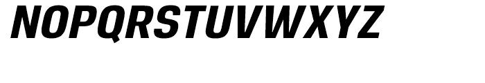 Reznik ExtraBold Italic Font UPPERCASE