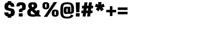 Reznik Heavy Font OTHER CHARS