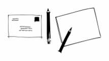 Reading and Writing Doodles Regular Font UPPERCASE