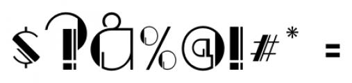Regal Suite JNL Regular Font OTHER CHARS