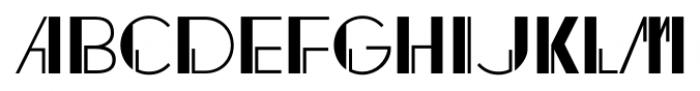 Regal Suite JNL Regular Font UPPERCASE