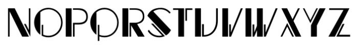 Regal Suite JNL Regular Font LOWERCASE