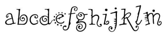 Remedy Single Font LOWERCASE