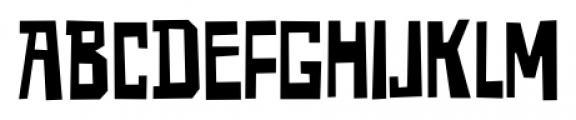 Reminder Regular Font UPPERCASE