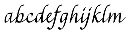 Rendezvous Regular Font LOWERCASE