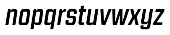 Revolution Gothic Bold Italic Font LOWERCASE