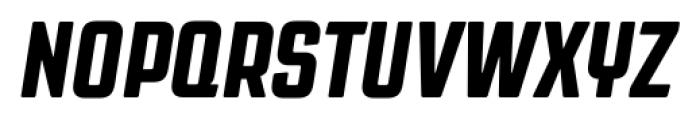 Revolution Gothic Extra Bold Italic Font UPPERCASE