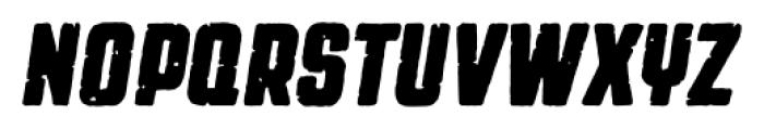 Revolution Gothic P Bold Italic Font UPPERCASE