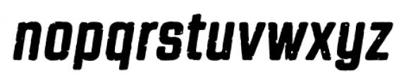 Revolution Gothic P Regular Italic Font LOWERCASE