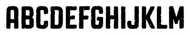 Revolution Gothic P Regular Font UPPERCASE