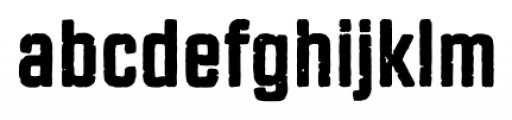 Revolution Gothic P Regular Font LOWERCASE