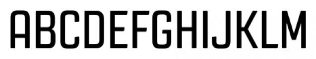 Revolution Gothic Regular Font UPPERCASE