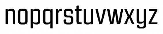 Revolution Gothic Regular Font LOWERCASE